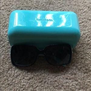 Tiffany & Company sunglasses.